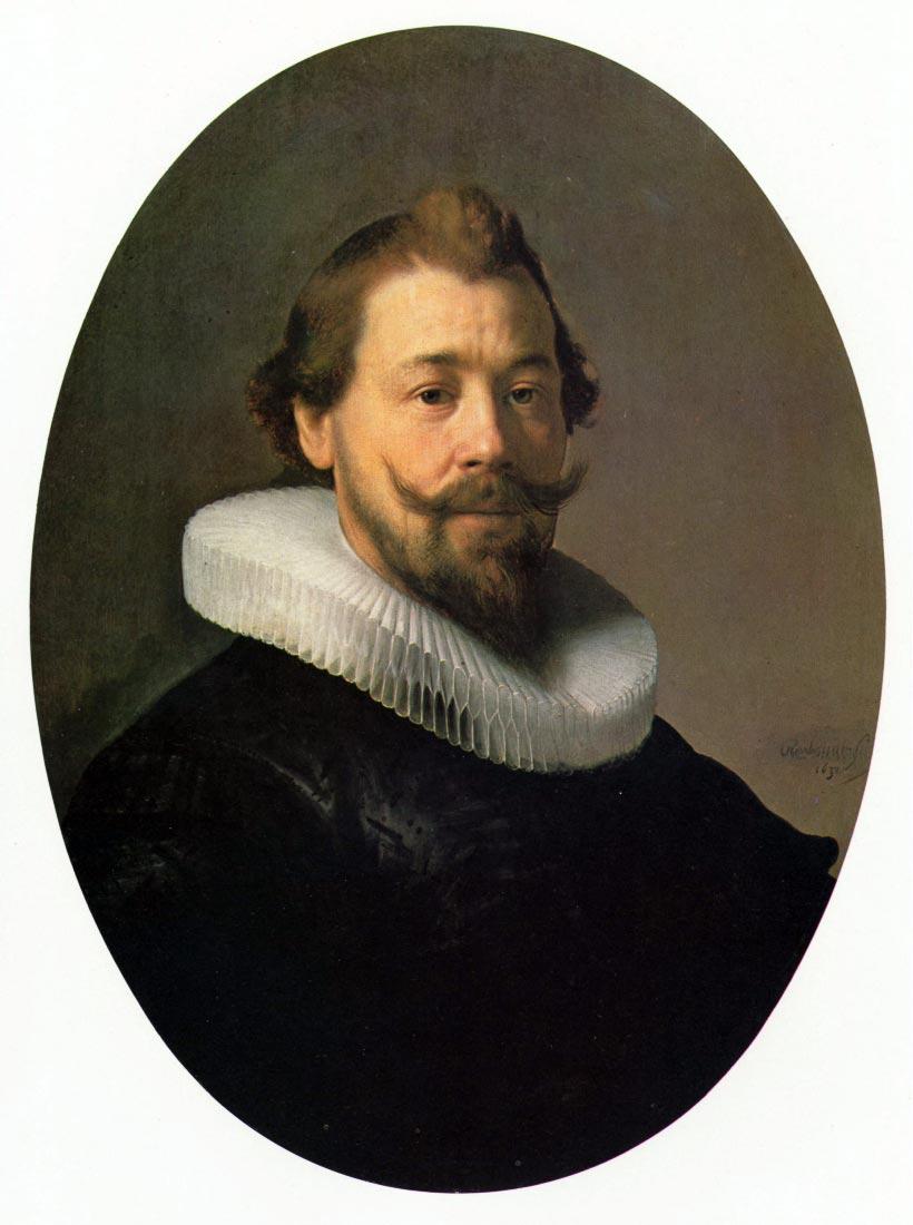 Portrait of a man [1] - Rembrandt